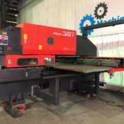 Used Amada Pega 357 CNC Turret Punch Press for Sale in California USA a