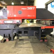 Used Amada Pega 357 CNC Turret Punch Press for Sale in California USA b