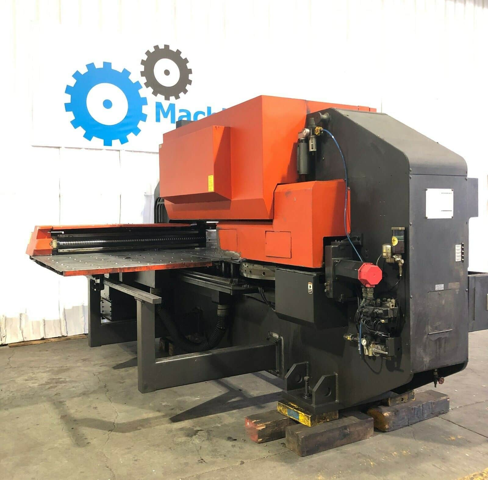 Amada Pega 357 CNC Turret Punch Press - MachineStation