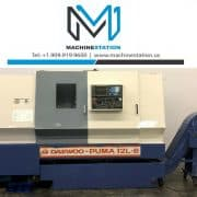 Used Daewoo Puma 12L CNC Turning Center for Sale in California