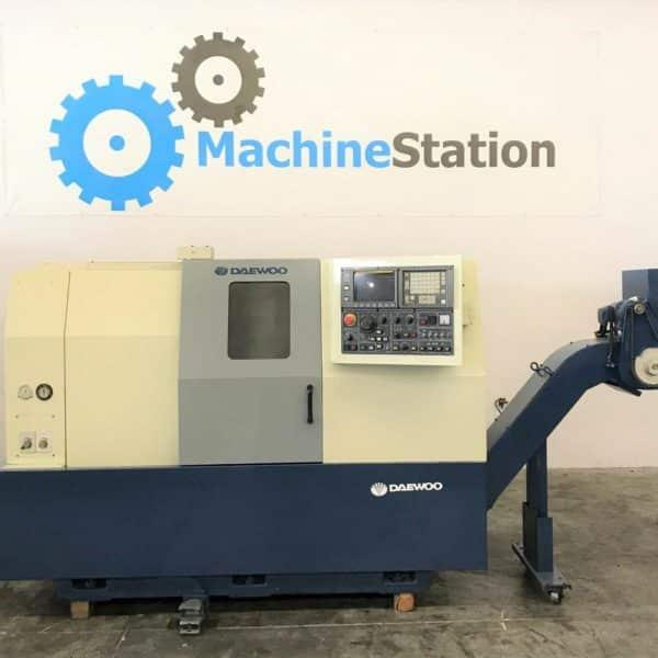 Used Daewoo Puma 8S CNC Turn Mill For Sale in California MachineStation USA