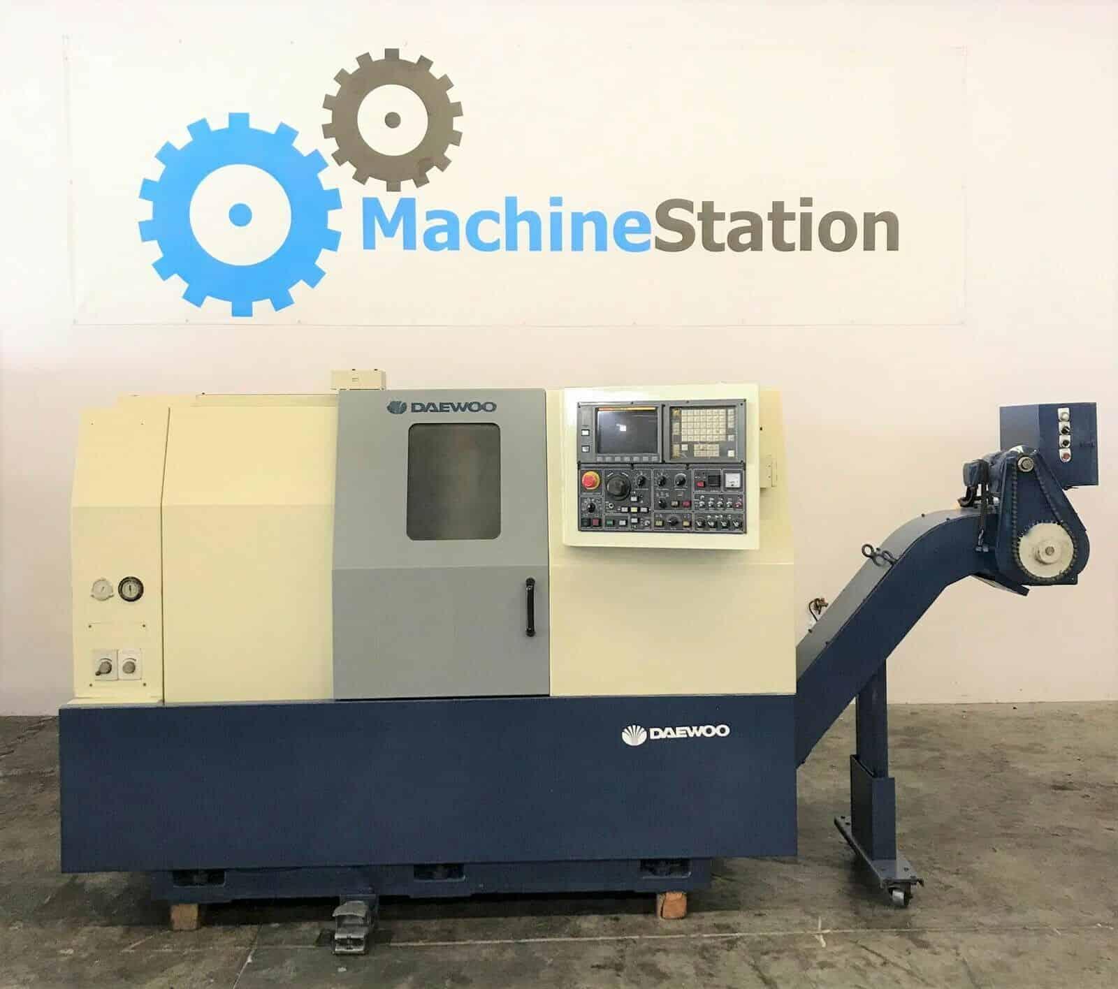 judío Pantano suficiente  Daewoo Puma 8S CNC Turning Center - MachineStation