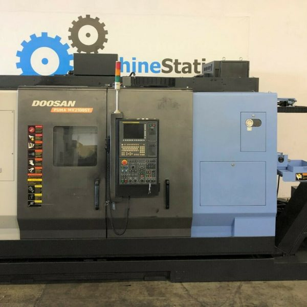 Used Doosan MX-2100ST CNC Multi Axis Turning for Sale in California USA