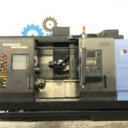 Used Doosan MX-2100ST CNC Multi Axis Turning for Sale in California USA a