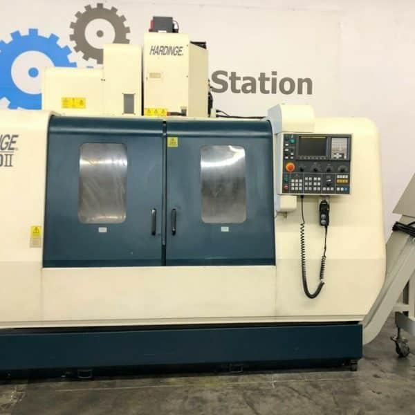 Used Hardinge VMC-1250II CNC Vertical Machining Center for Sale in California