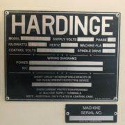Used Hardinge VMC-1250II CNC Vertical Machining Center for Sale in California g
