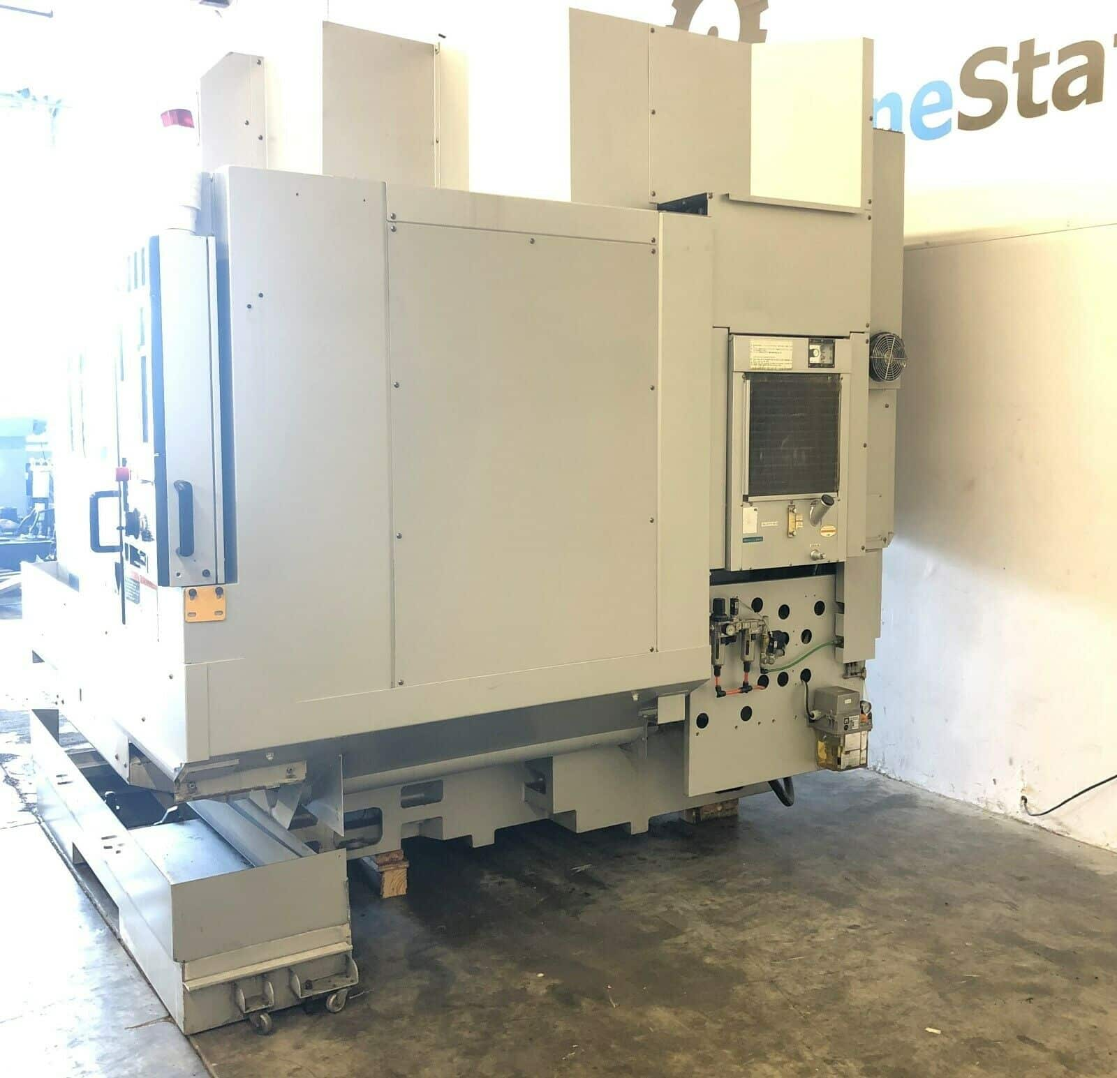 Mori seiki nv 5000 cnc vertical machining center machinestation - Vertical align div ...