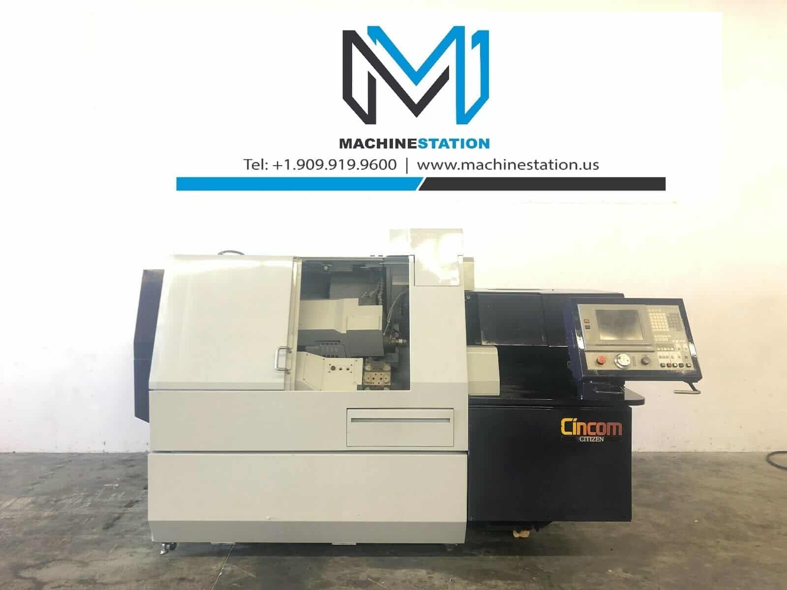 Citizen M-32 CNC Swiss Screw Sliding Head Lathe for Sale in California
