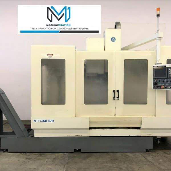 Kitamura Mycenter 4 CNC Vertical Machining Center for Sale in California
