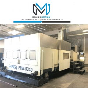 Mighty Viper PRW-5340 CNC Vertical Bridge Milling
