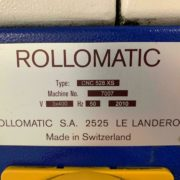 Rollomatic 528-XS 6 Axis CNC Tool & Cutter Grinder for Sale in California j