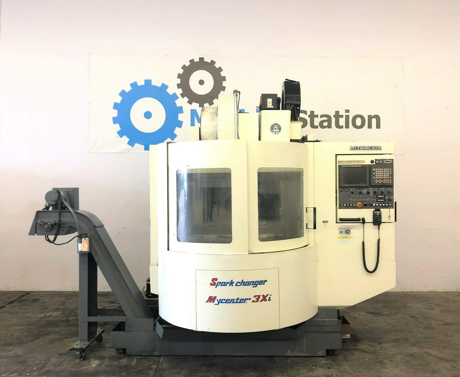 Used Kitamura MyCenter 3xi SparkChanger CNC Mill for Sale in California