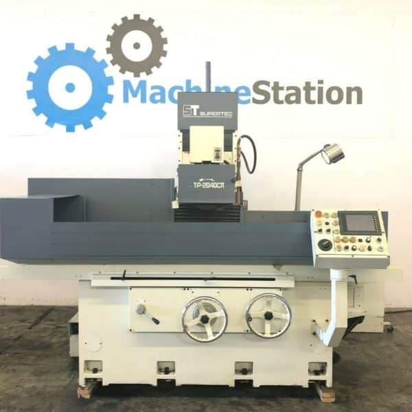 Used Supertec Planotec STP-2040CII 3 Axis NC Surface Grinder for Sale
