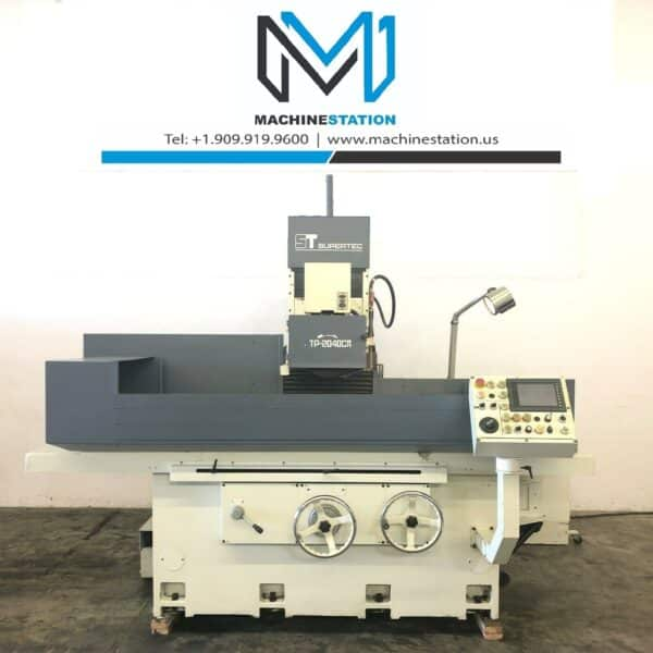 Used Supertec Planotec STP-2040CII 3 Axis NC Surface Grinder for Sale MSU