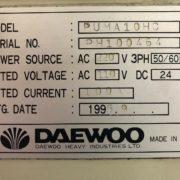 Daewoo Puma 10HC CNC Turning Center for Sale in California k