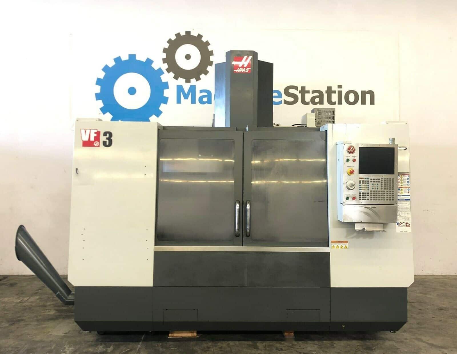 Haas VF-3D Vertical Machining Center - MachineStation