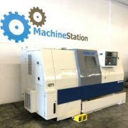 Used Daewoo Puma 250B CNC Turning Center for Salein California b