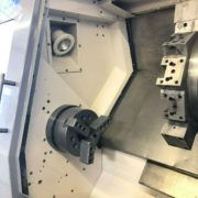Used Daewoo Puma 250B CNC Turning Center for Salein California e