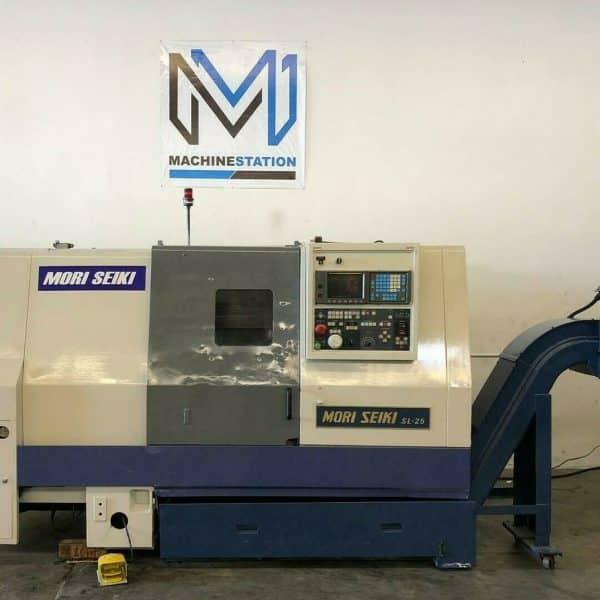 Mori Seiki SL-25B CNC Lathe Turning for Sale in California a
