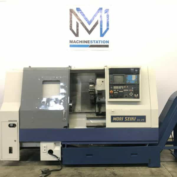 Used Mori Seiki SL-25B CNC Turning Center for Sale in California