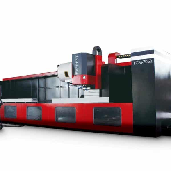 Everest TCM 7050 CNC Moving Column Vertical Machining Center