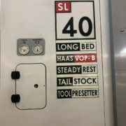Haas SL-40TLB Long bed CNC Turning Center for Sale in California j
