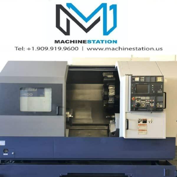 Mori Seiki SL-400BMC Lie Tool Turn Mill Lathe for Sale in California USA