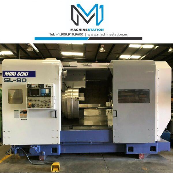 Used Mori Seiki SL-80 CNC Turning Center (1)