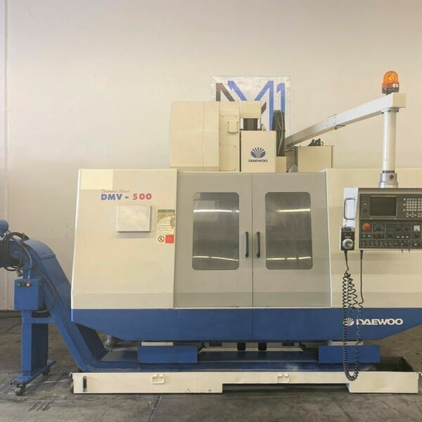 Daewoo Doosan DMV-500 Vertical Machining Center for Sale in MachineStation USA (1)