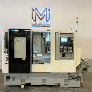 Demo Model QuickTech i42-Twin 7 Axis CNC Turning Lathe (1)