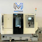 Demo Model QuickTech i42-Twin 7 Axis CNC Turning Lathe (2)