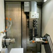 Demo Model QuickTech i42-Twin 7 Axis CNC Turning Lathe (9)