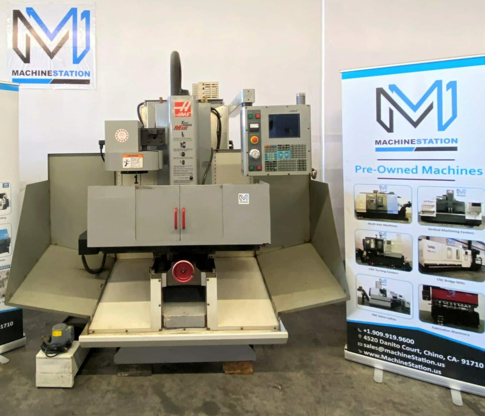 HAAS TM-1 Tool Room CNC Mill for Sale in California (1)