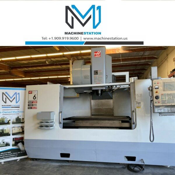 Haas VF-6by50 Vertical Machining Center for Sale in California (1)
