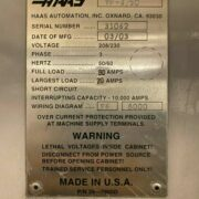 Haas VF-6by50 Vertical Machining Center for Sale in California (9)