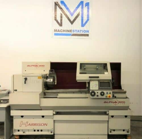 Harrison Alpha 400 CNC Turning Center for Sale in California USA (1)