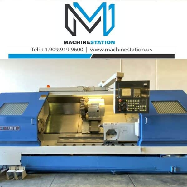 Ikegai TU-30LL CNC Long Bed Turning Center for Sale in California USA (1)