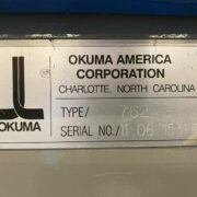 Okuma Crown 762S CNC Turning Center for Sale in California USA (11)