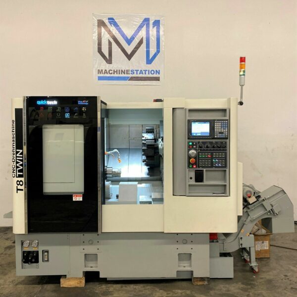 QuickTech T8-M CNC Turn Mill Lathe Demo Model for Sale in California (1)