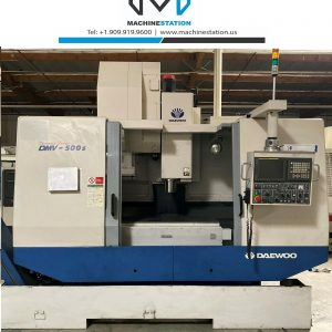 Daewoo Doosan DMV-500S Vertical Machining Center for sale in California (1)
