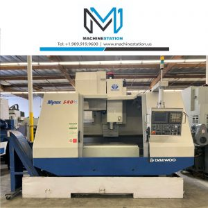 Daewoo Doosan Mynx 540 Vertical Machining Center for Sale in California (1)