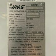 Haas SL-30B CNC Big Bore Turning Center for Sale in California (10)
