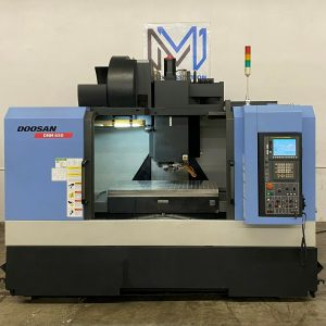 Doosan DNM-650 Vertical Machining Center for Sale in California (1)