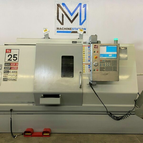 Haas TL-25 CNC Turn Mill Center for Sale in California (1)