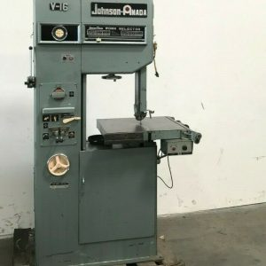 AMADA JOHNSON V-16 VERTICAL BAND SAW FOR SALE IN CALIFORNIA.(1)