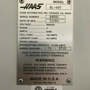 HAAS SL-40T CNC TURN MILL CENTER FOR SALE IN CALIFORNIA (6)