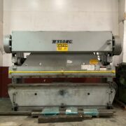 WYSONG 90-10 MECHANICAL PRESS BRAKE FOR SALE IN CALIFORNIA.(1)