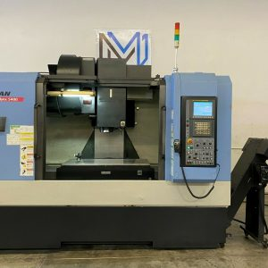 DOOSAN MYNX 5400 VERTICAL MACHINING CENTER CNC MILL 4020 TSC 4H AXIS - 2012 (1)