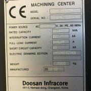 DOOSAN MYNX 5400 VERTICAL MACHINING CENTER CNC MILL 4020 TSC 4H AXIS – 2012 (13)
