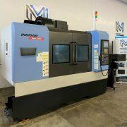 DOOSAN MYNX 5400 VERTICAL MACHINING CENTER CNC MILL 4020 TSC 4H AXIS – 2012 (4)